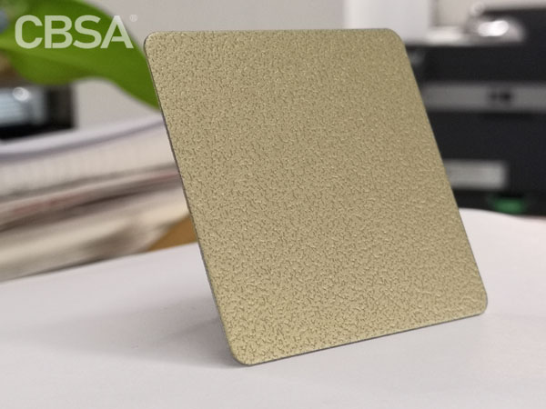 <strong>Color steel stainless steel sandblasted sheet</strong>