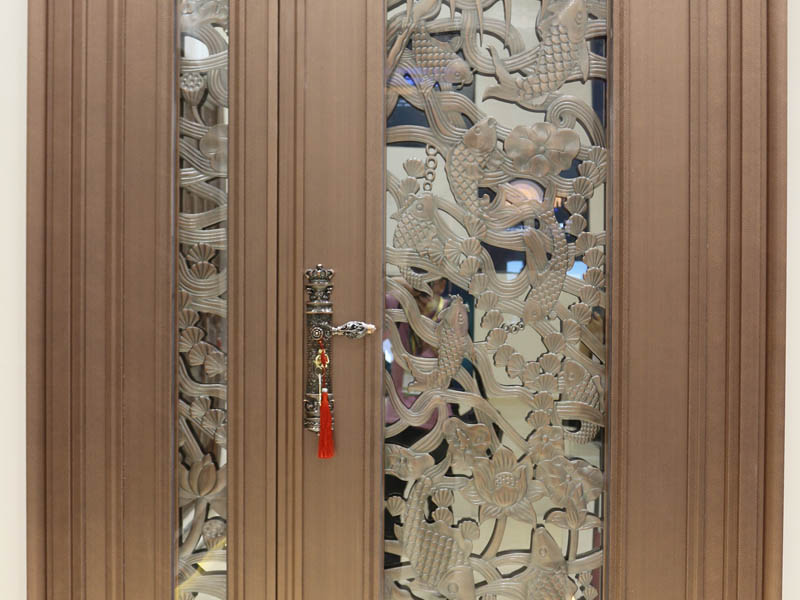 China color stainless steel home security door