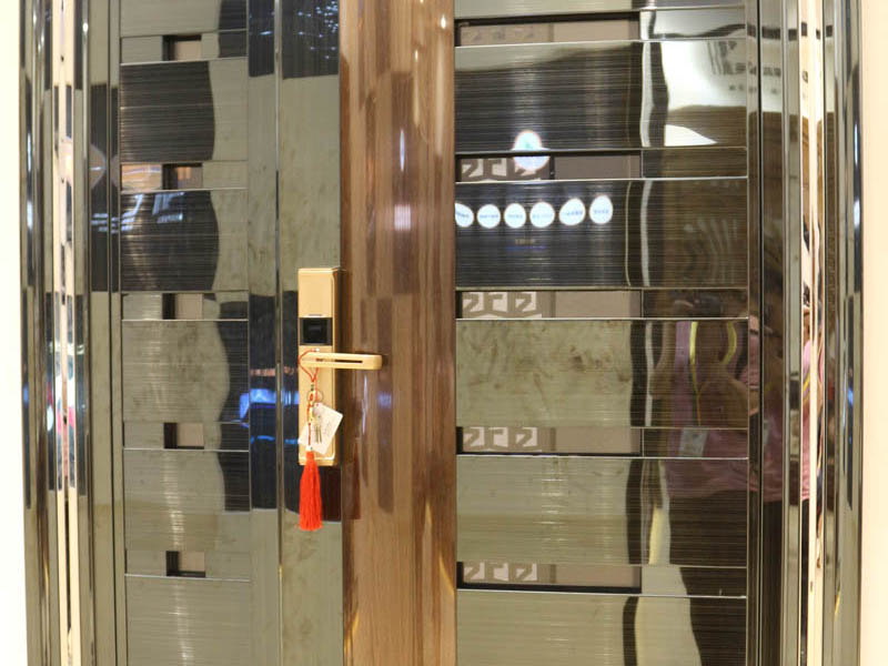 China color stainless steel security door