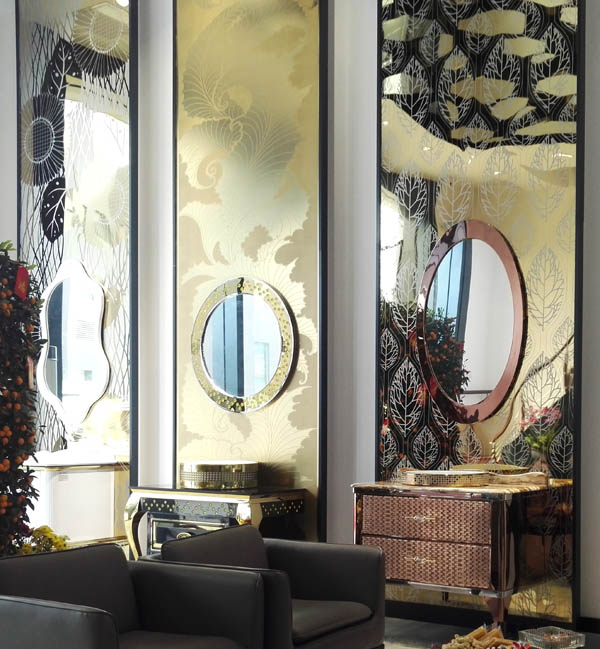 Seek an international design team to complete the color stainless steel decorative design project.