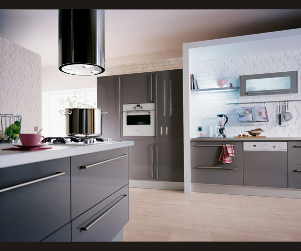 home Stainless steel kitchen cabinet