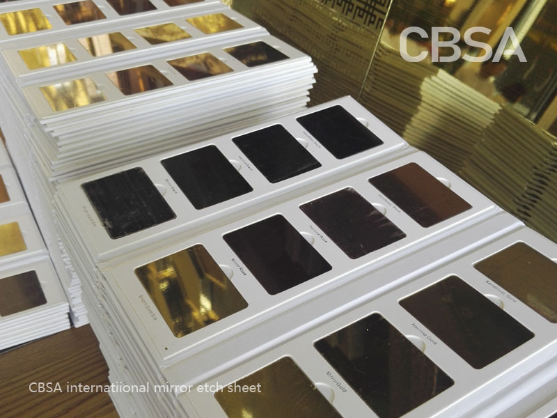 304 color mirrorstainless steel decorative sheet