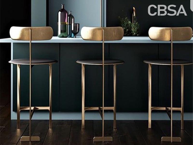 Metal modern High bar chair for bar