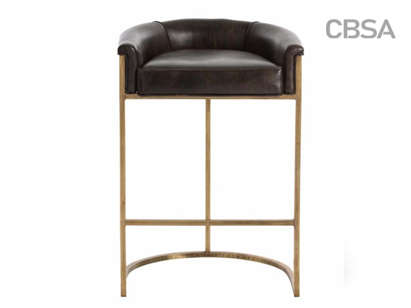 304 stainless steel HL gold bat chair