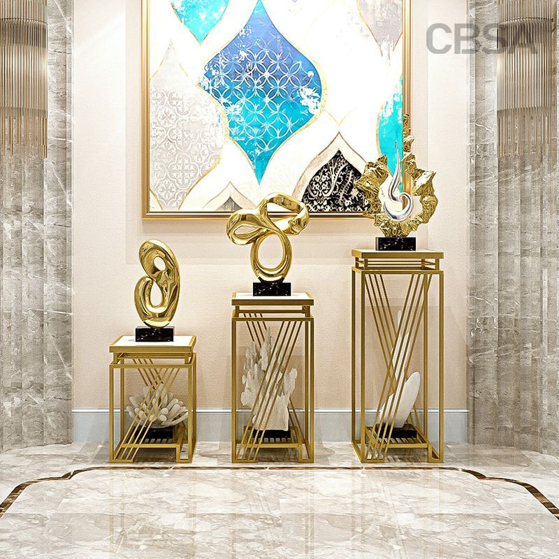 luxury stainless steel decorative frame set