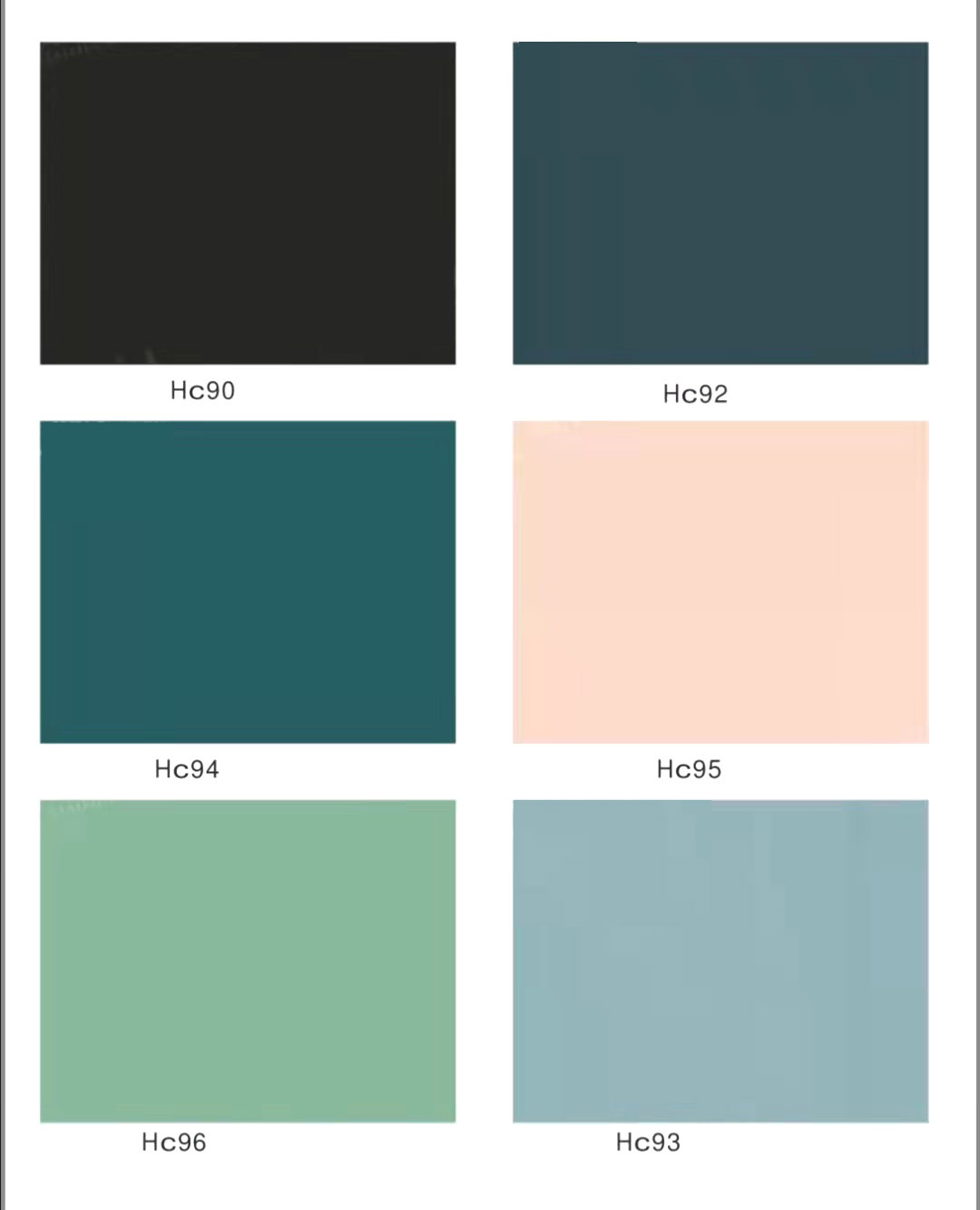 Pure color series SS pvc cabinet sheet