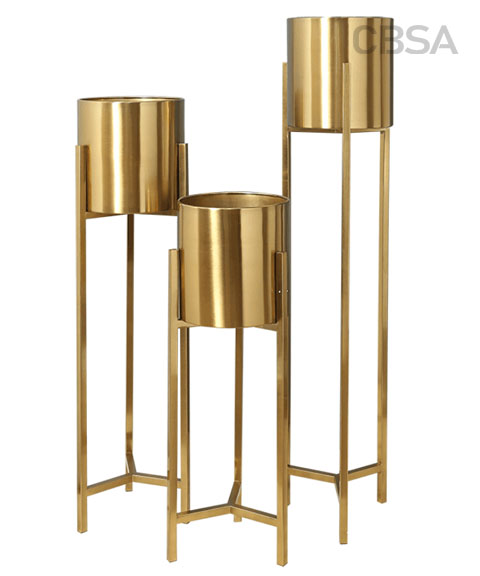 Stainless steel decorative flower stand
