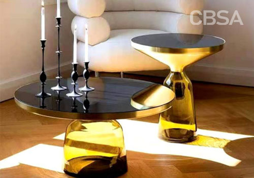 How is luxury stainless steel furniture made?
