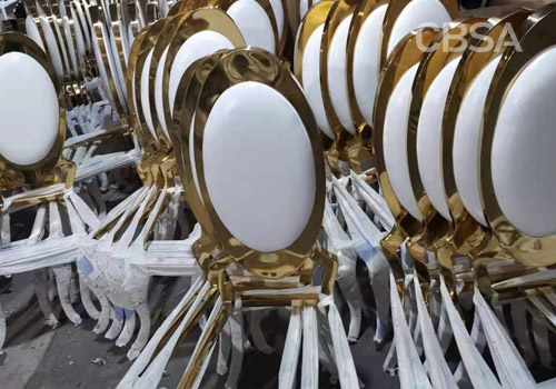 How is the stainless steel furniture factory produced?