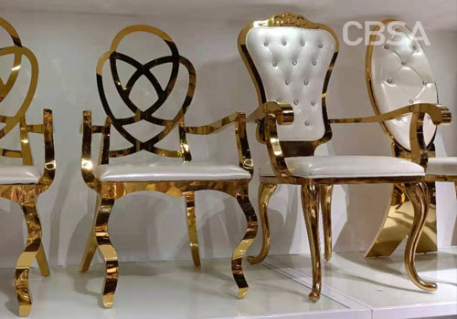 SS luxury wedding chair